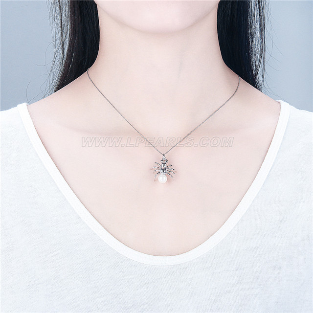 wholesale 925 silver spider pendant mountings